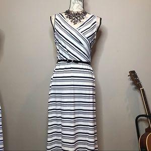 Amelia James Spring striped Dress